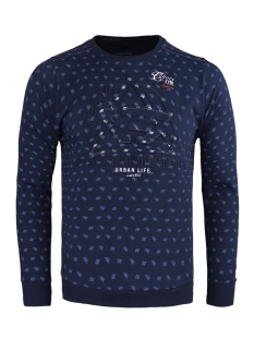 77070 gabbiano sweater navy