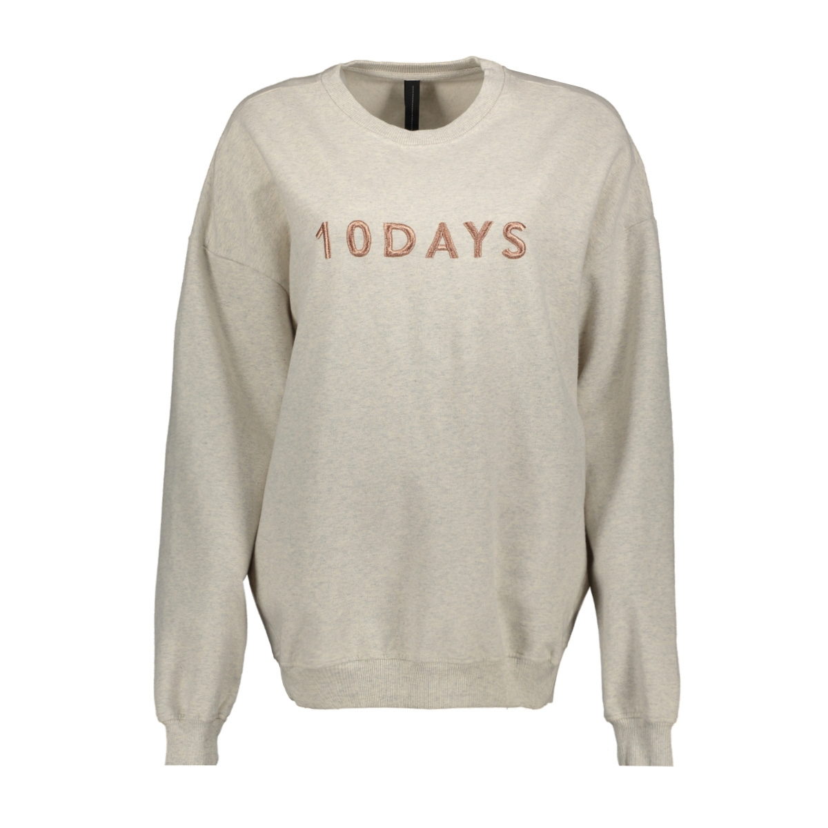 20 801 9101 10 days sweater soft white melee