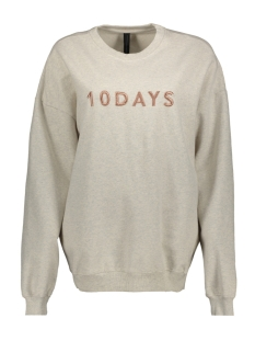 10 Days sweater 20 801 9101 SOFT WHITE MELEE