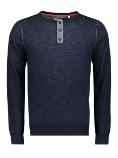 Tom Tailor Trui FINE STRIPED HENLEY 1009611XX10 16850