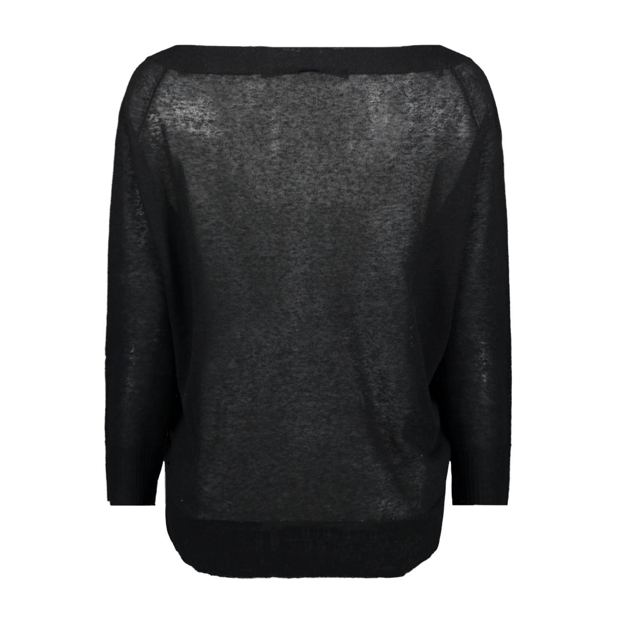 boat neck sweater 20 621 9101 10 days trui black