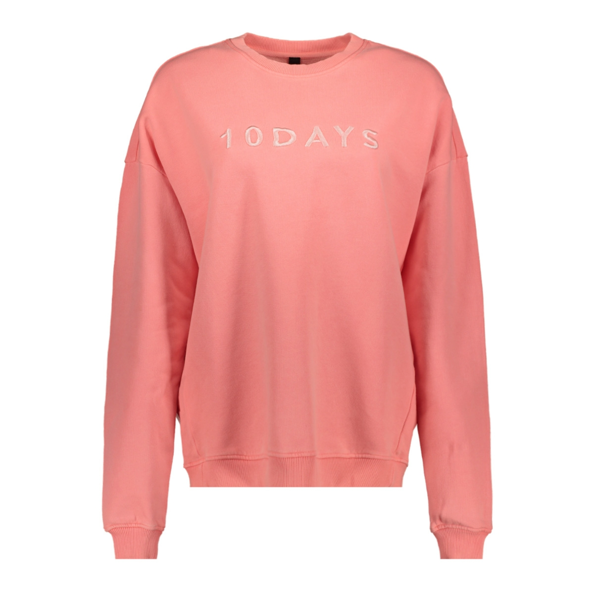 oversized sweater 20 816 9101 10 days sweater fluor peach