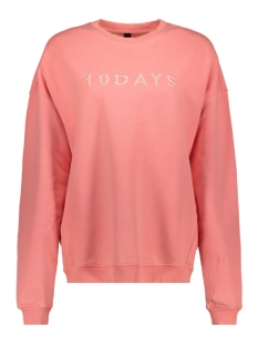 10 Days sweater OVERSIZED SWEATER 20 816 9101 FLUOR PEACH