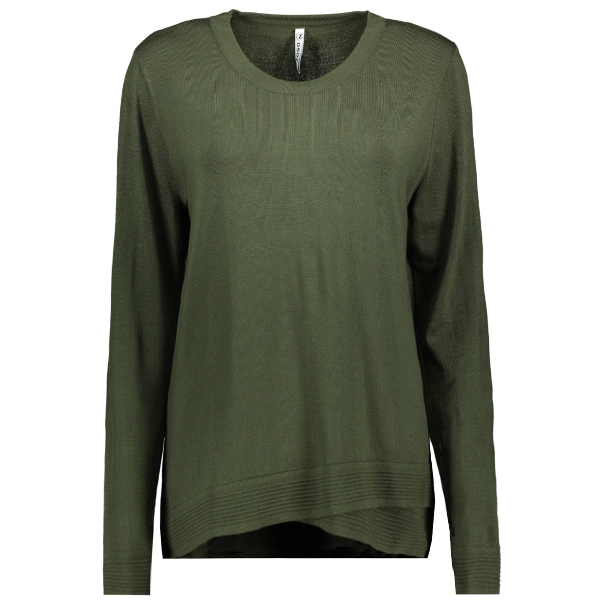 knitted sweater kn1906 zoso trui army