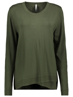 Zoso Trui KNITTED SWEATER KN1906 ARMY