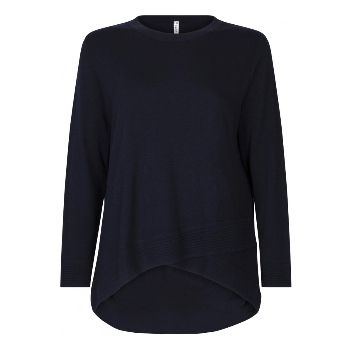 knitted sweater kn1906 zoso trui navy