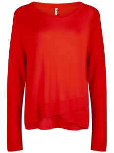 knitted sweater kn1906 zoso trui orange red