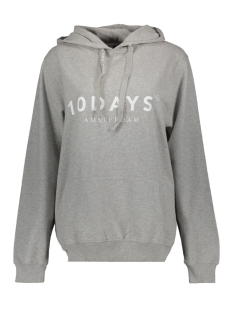 10 Days sweater THE HOODIE 21 851 9900 LIGHT GREY MELANGE