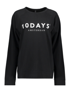 10 Days sweater THE CREW NECK SWEATER 21 810 9900 BLACK