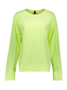 10 Days sweater THE CREW NECK SWEATER 20 810 9102 FADED FLUOR YELLOW