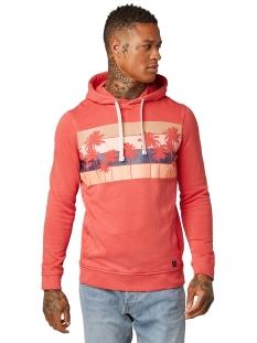 hoodie met print 1009032xx12 tom tailor sweater 11042