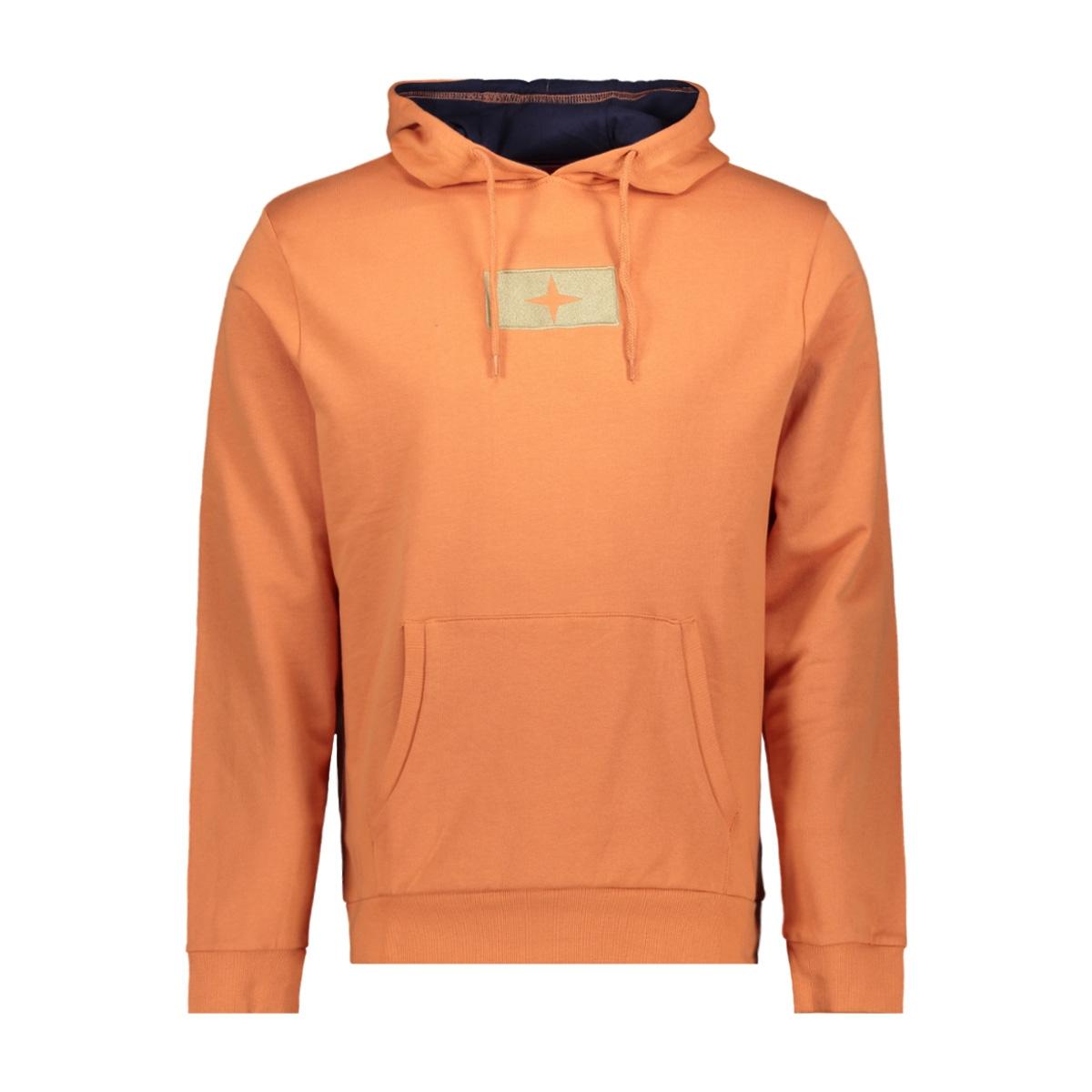 hoody mu10 0422 haze & finn sweater carnelian