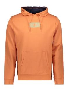 Haze & Finn sweater HOODY MU10 0422 CARNELIAN