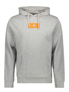 Haze & Finn sweater HOODY MU10 0422 LIGHT GREY MELANGE