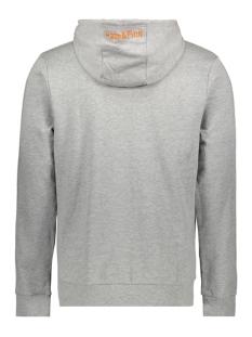hoody mu10 0422 haze & finn sweater light grey melange