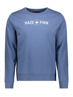 Haze & Finn sweater SWEAT MU10 0421 BLUE HORIZON