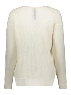 light knit sweater v neck 20 606 9103 10 days trui soft white melee