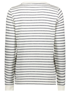 trui met all over streeppatroon 21201308 sandwich sweater 40115