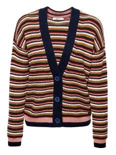 EDC Vest GROFGEBREID VEST MET STREPEN 089CC1I009 C402
