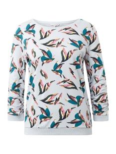 Tom Tailor sweater SWEATER MET BLOEMENPATROON 1013375XX71 19295