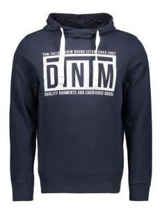 Tom Tailor sweater HOODIE MET TEKST 1012453XX12 10668