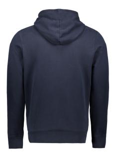 hoodie met tekst 1012453xx12 tom tailor sweater 10668