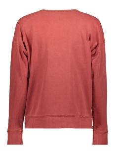 sweatshirt met onafgewerkte randen 089cc1j002 edc sweater c810
