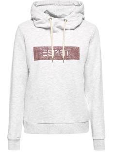 Esprit sweater GEMELEERDE JERSEY HOODY 089EE1J012 E044