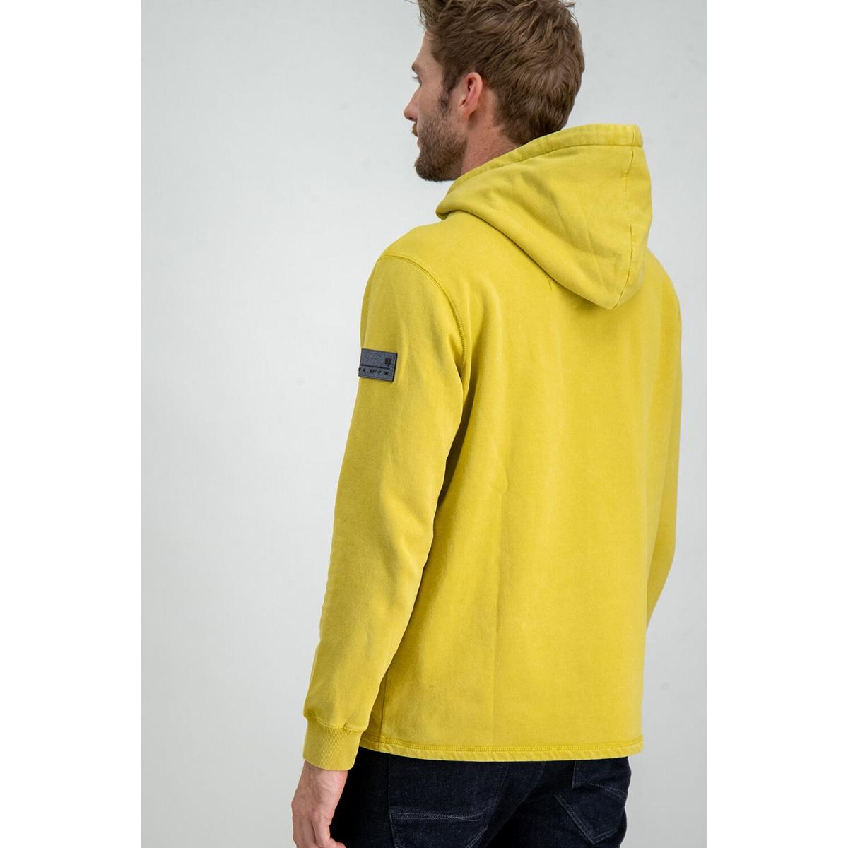 sweater met capuchon h91268 garcia sweater 2911 golden olive