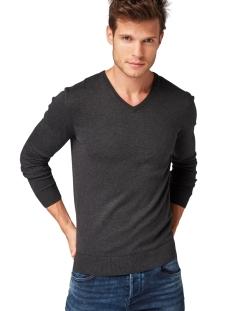 eenvoudige gebreide trui 1012820xx10 tom tailor trui 10617