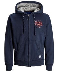 Jack & Jones Vest JORUPTON SWEAT ZIP HOOD 12158175 Navy Blazer