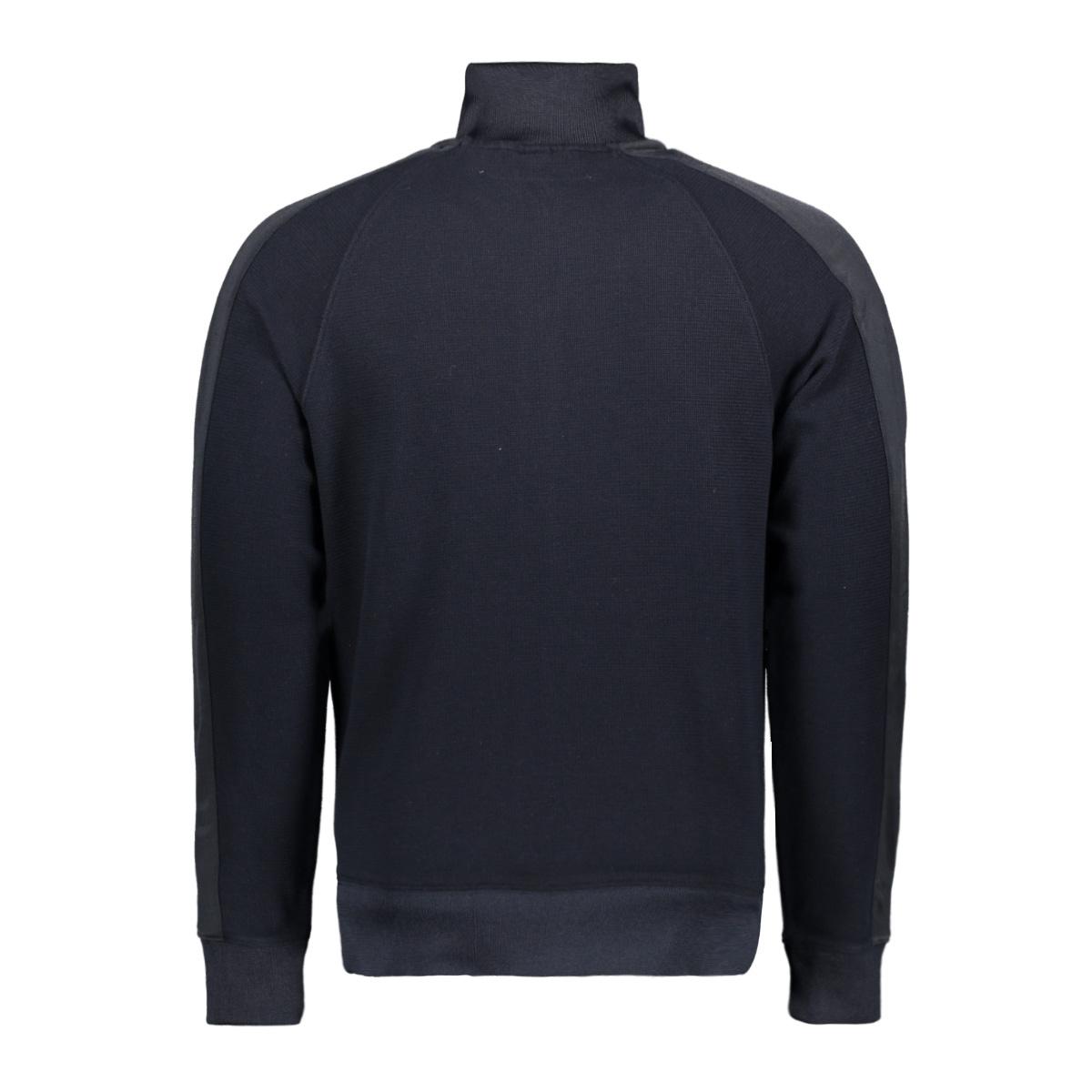 zipped pique cardigan csw195005 cast iron vest 5287