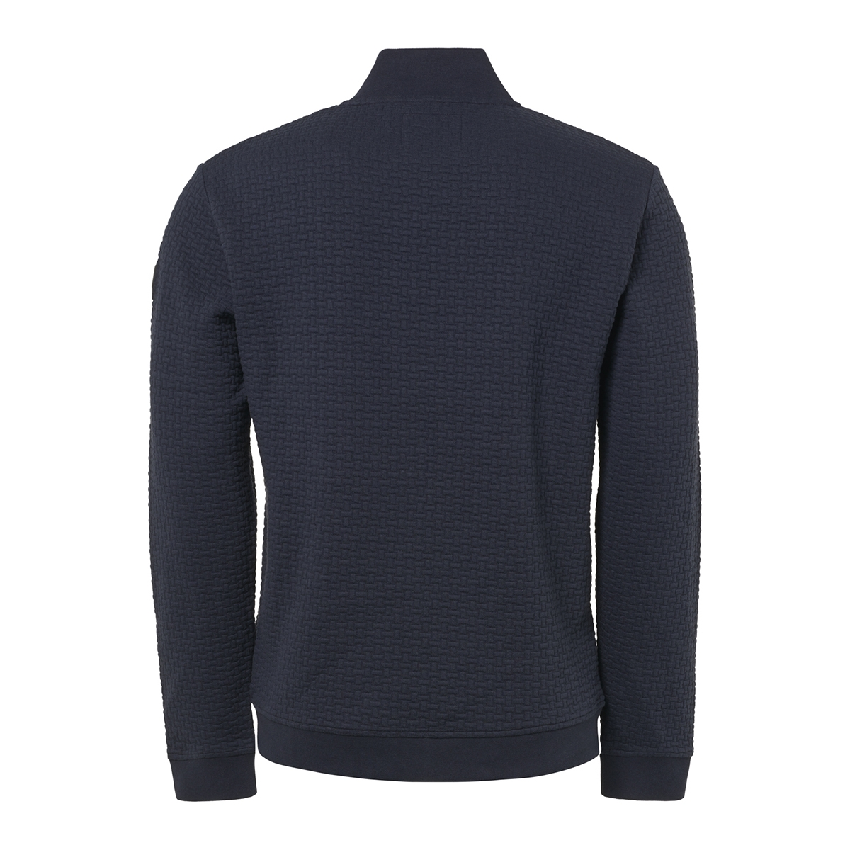 full zip jacquard cardigan 92100813 no-excess vest 078 night