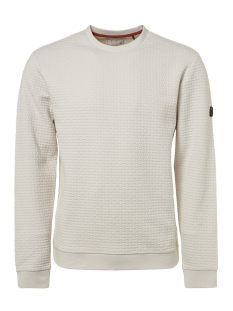 crewneck jacquard sweater 92100815 no-excess trui 017 chalk