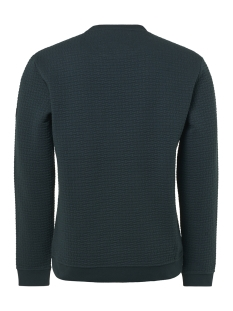 crewneck jacquard sweater 92100815 no-excess trui 157 sea green
