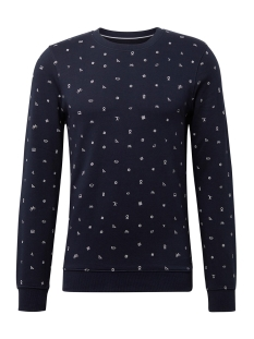 Tom Tailor sweater SWEATER MET ALLOVER PRINT 1013812XX12 19739
