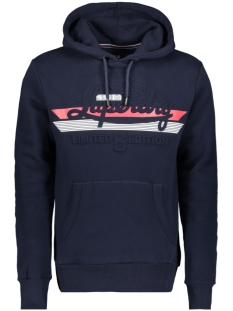 embossed classic hood m2000015a superdry sweater rich navy