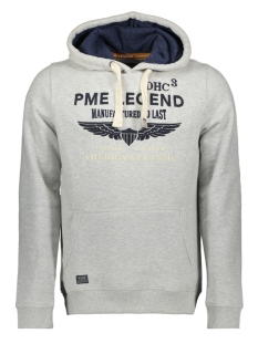 PME legend sweater HOODED BRUSHED SWEATER PSW195411 921
