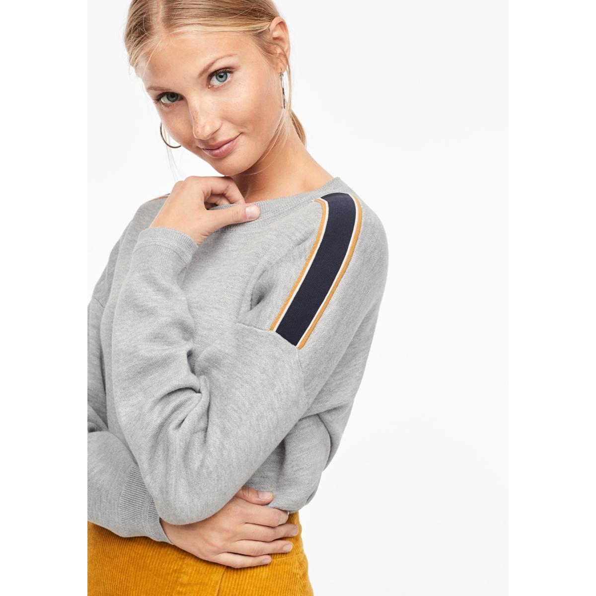 sweater met streep 14909616339 s.oliver sweater 9400