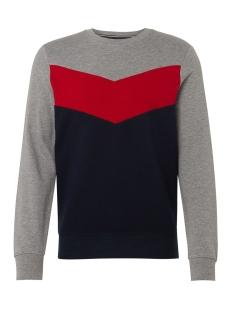 Tom Tailor sweater SWEATER MET GRAFISCHE STREPEN 1013811XX12 10668