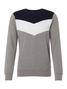 Tom Tailor sweater SWEATER MET GRAFISCHE STREPEN 1013811XX12 10695