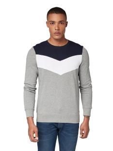 sweater met grafische strepen 1013811xx12 tom tailor sweater 10695
