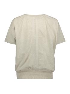 sweater short sleeve 20 808 8103 10 days trui soft white melee