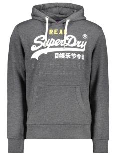 Superdry sweater VINTAGE AUTHENTIC TRI HOOD M2000069B BLACK GRIT