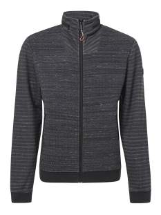 NO-EXCESS Vest FULL ZIP JACQUARD CARDIGAN 92100906 020