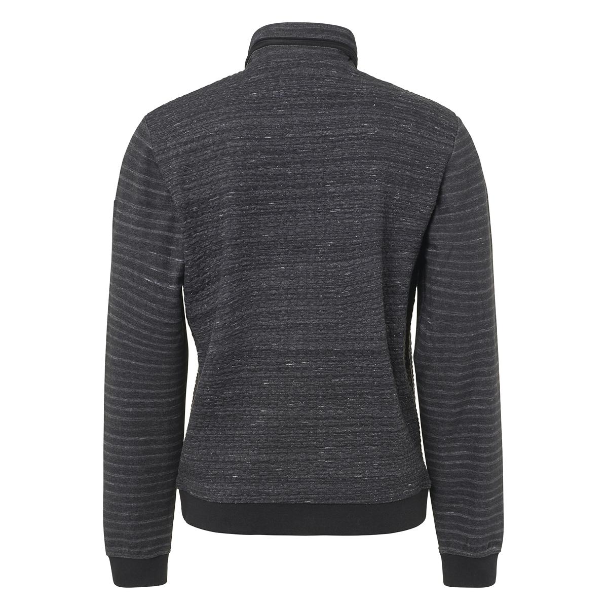 full zip jacquard cardigan 92100906 no-excess vest 020