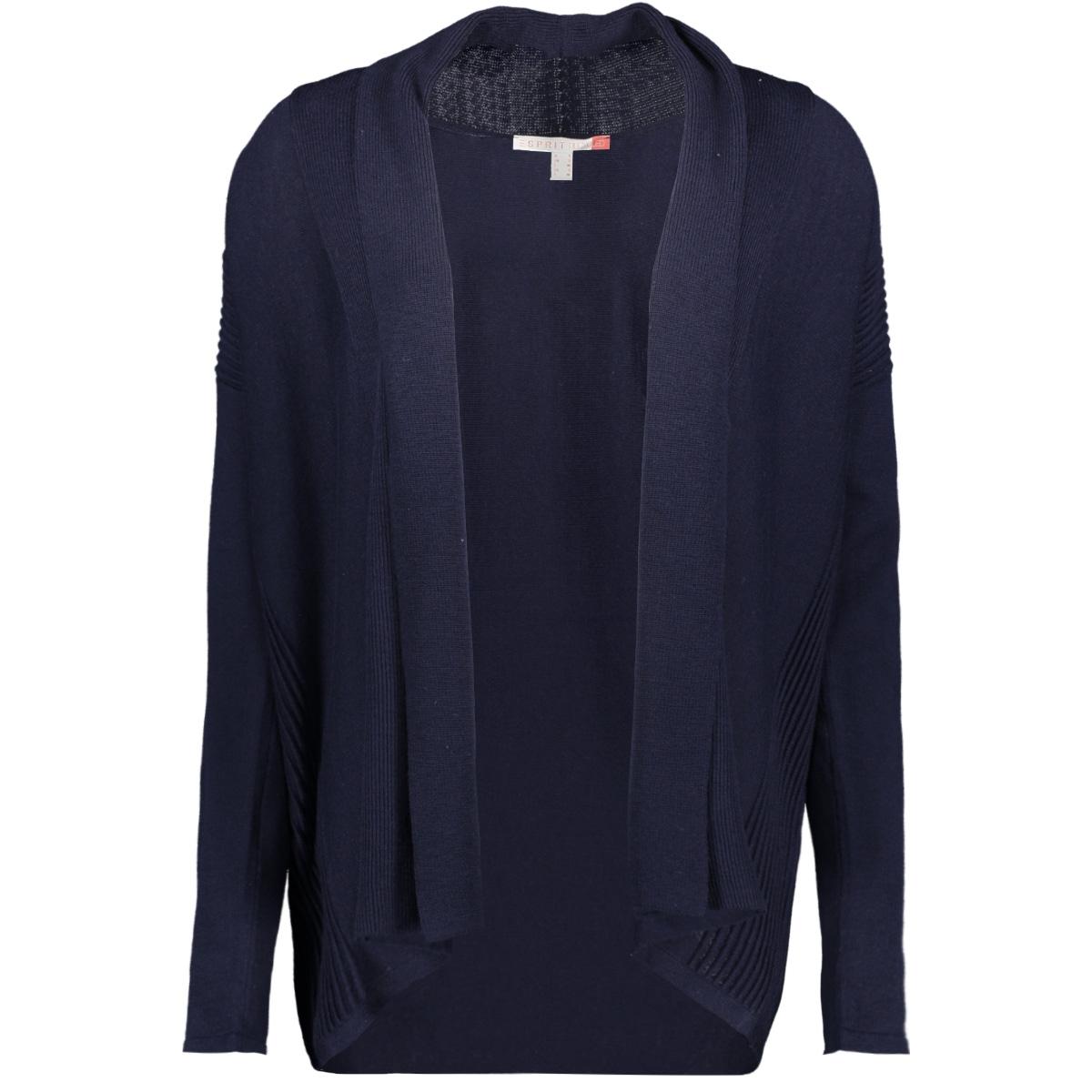 vest met shawlkraag 109ee1i043 esprit vest e400