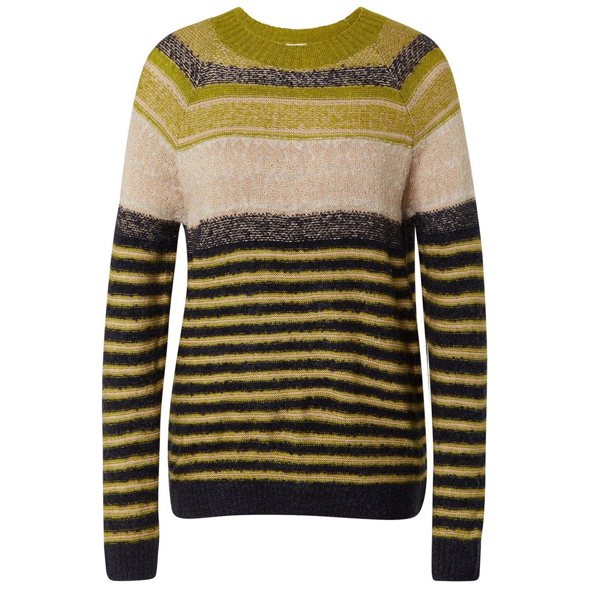 gebreide gemeleerde trui 1015061xx70 tom tailor trui 19651