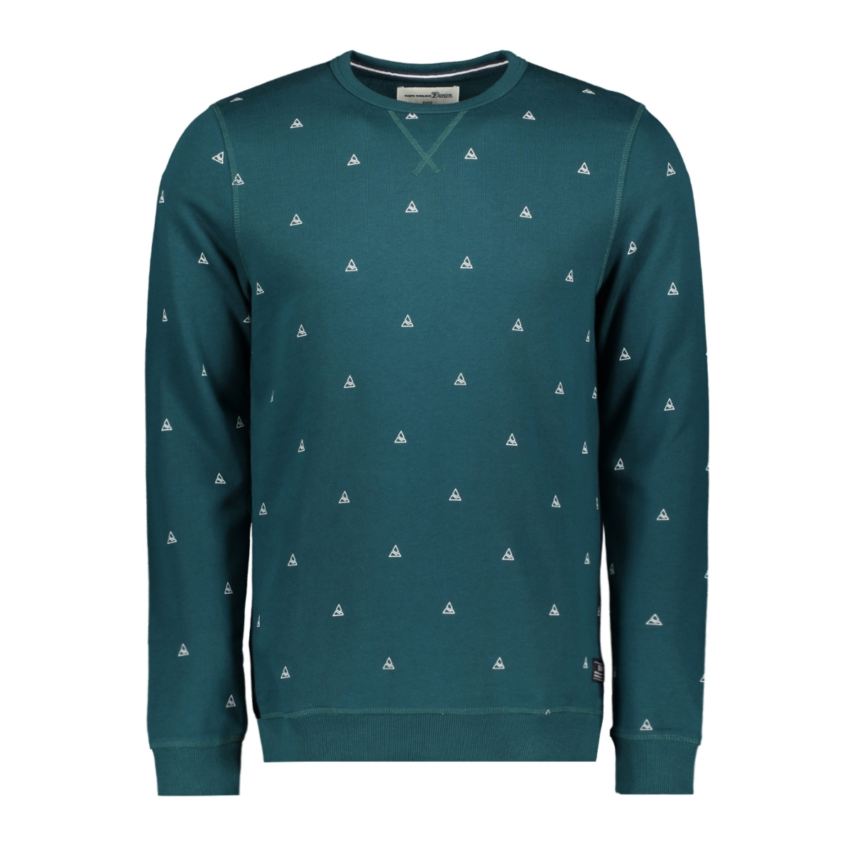 sweater met all over print 1014778xx12 tom tailor sweater 21007
