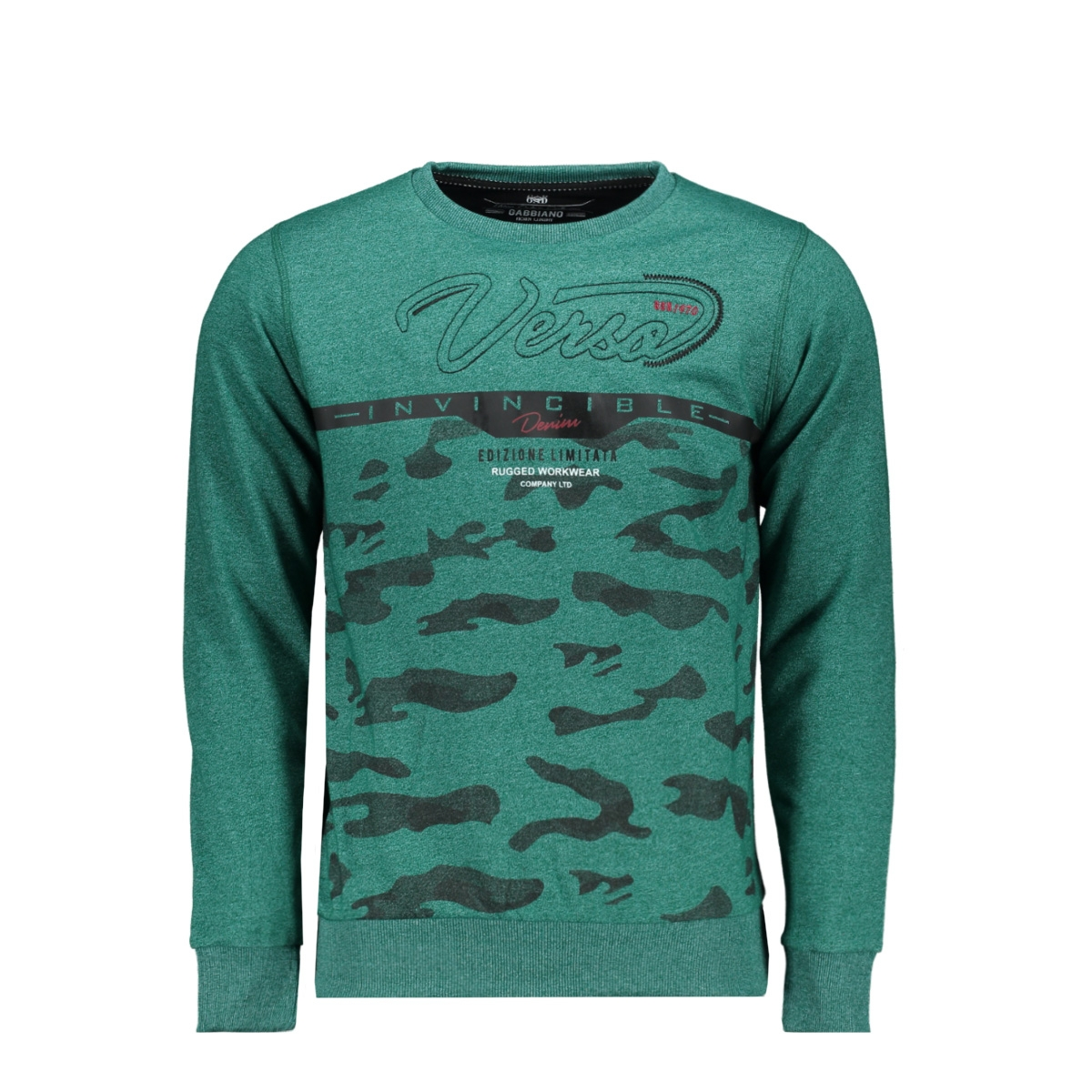 76134 gabbiano sweater green
